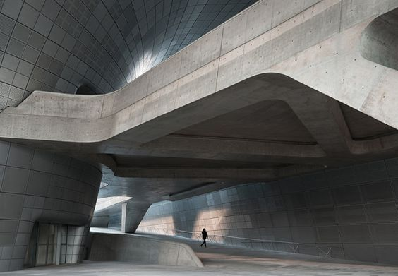 Dongdaemun Design Plaza, by Zaha Hadid Architects | Architect Magazine | Zaha Hadid Architects, Seoul, SOUTH KOREA, Commercial, Cultural, Entertainment, Hospitality, Planning, New Construction, LEED Platinum