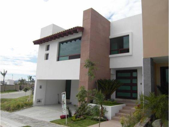 Fachada de casa garage fachada pinterest garaje for Fachadas de garajes