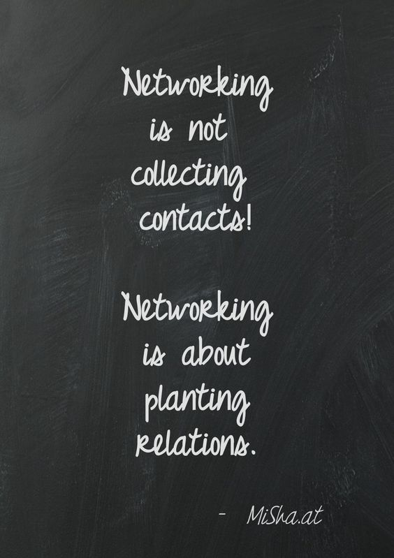 Networking is not collecting contacts! Networking is about planting relations. We can help you plant better relations with your network. Learn more about our services: http://reach4creativemedia.com/