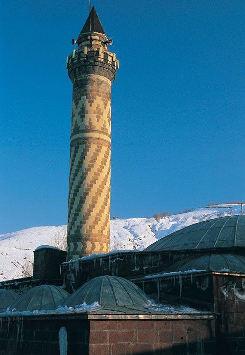 Mezquita de Alaeddin, Konya, Turquía