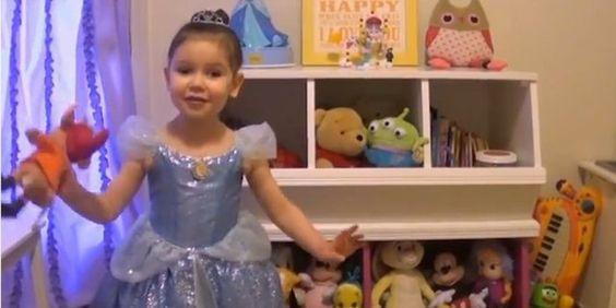 Das ist so süß! Eine 3-Jährige teilt ihrer krebskranken Freundin mit, dass sie ins Disneyland reisen darf!