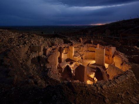 Göbekli Tepe, Turquía. La construcción se remontaría al año 13.000 a.C, antes que las pirámides y Stonehenge