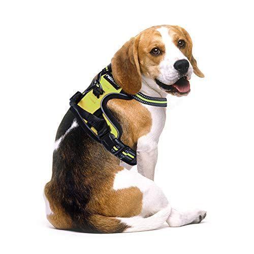 Best No Pull Dog Harness Adjustable Pet Vest Harnesses For Medium