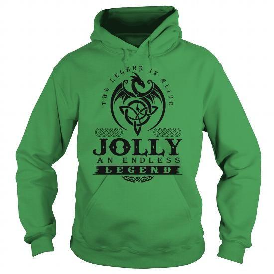 JOLLY T Shirts, Hoodies. Check price ==► https://www.sunfrog.com/Names/JOLLY-133187539-Green-Hoodie.html?41382