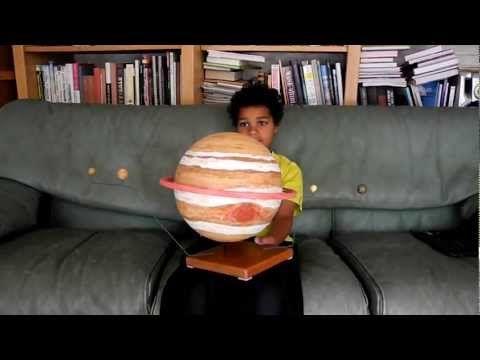 planet jupiter sytrofoam model - photo #34