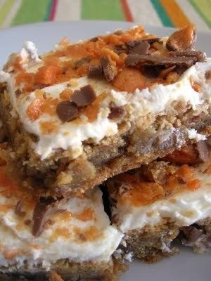 Butterfinger blondies Butterfinger blondies Butterfinger blondies