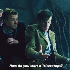 How DO you start a Triceratops??