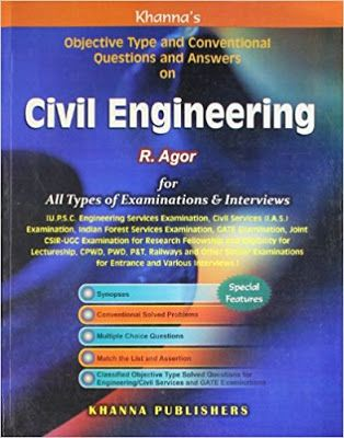 Download Civil Engineering Objective Book R Agor Cg Aspirants Civil Engineering Books Civil Engineering This Or That Questions
