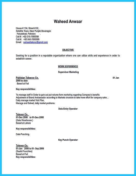 Resume cover letters, Job description and Brand ambassador on ...