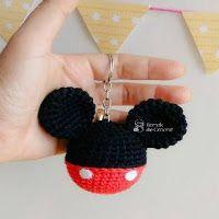 Mickey Mouse Crochet pattern - Amigurumi toy PDF pattern - Crochet ...   200x200