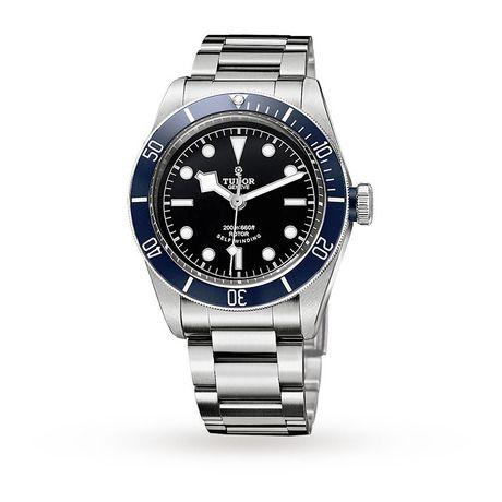Mens Watches - Tudor Heritage Black Bay Mens Watch - M79220B-0001