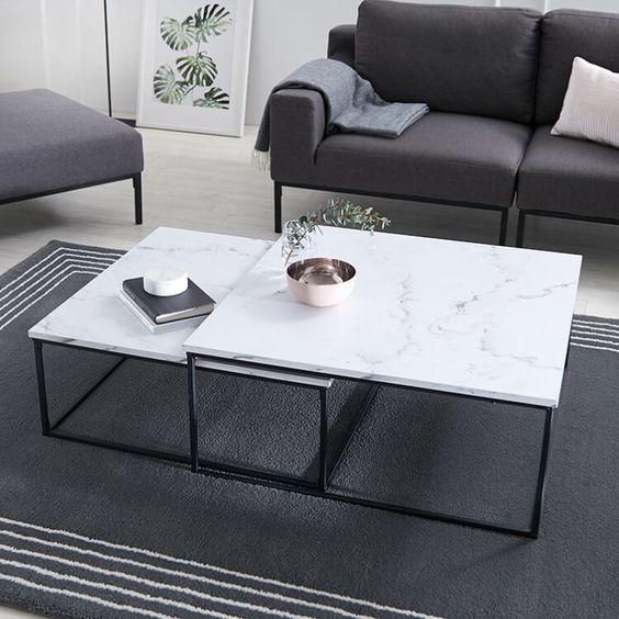 溢れる高級感!LOWYA(ロウヤ)の大理石&ガラステーブルおすすめ10選!丸型や正方形型もおしゃれ