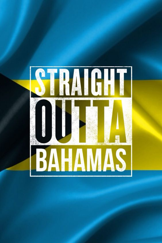 the bahamian flag