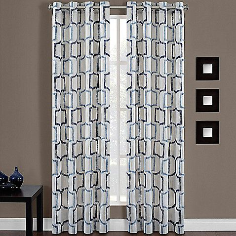 Portinari Grommet Top Window Curtain Panel, Bed Bath & Beyond 108 ...
