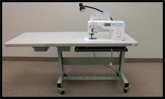 janome 6600 sewing machine table