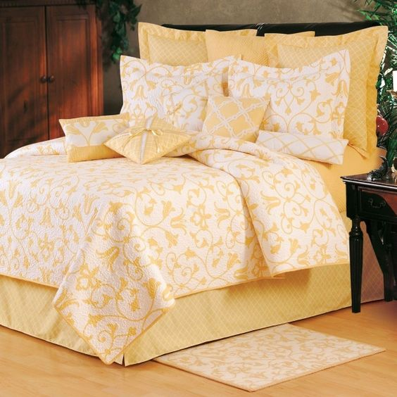 Yellow Bedding Yellow And Bedding On Pinterest