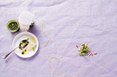 Pesto und Pestozutaten