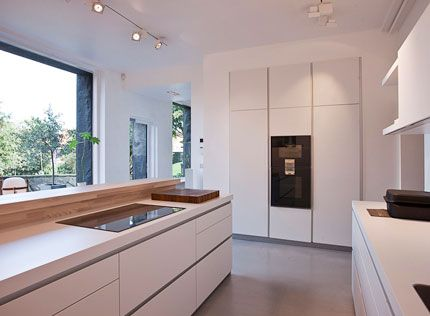 ... An Understated Contemporary Bulthaup B3 Kitchen, Finished In Flint   Moderne  Kuchendesign Idee Steininger ...