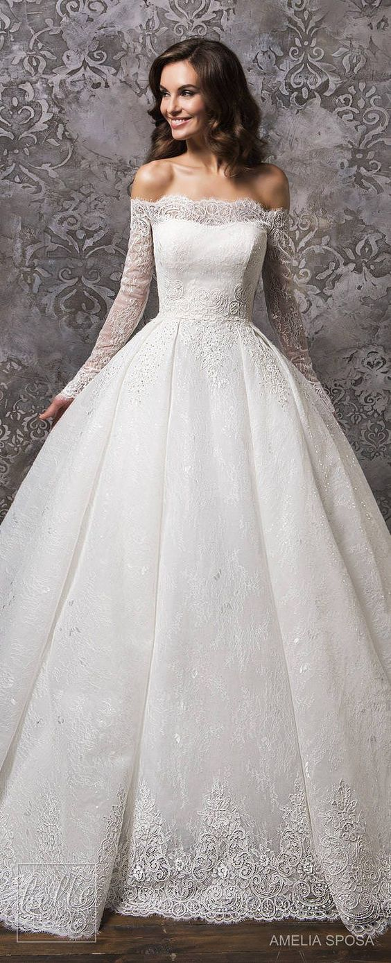 stunning Amelia Sposa Wedding Dress Collection Fall 2018