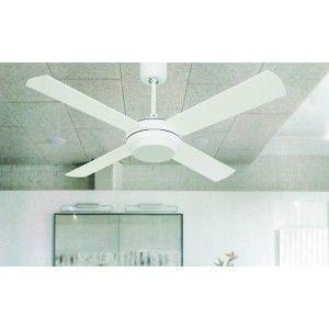 Ventilador de techo con luz y regulador de pared ai18 - Ventiladores de pared ...