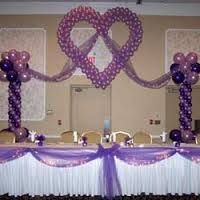 Decoracion para fiesta de 15 a os con globos buscar con for Decoracion de 15 anos con globos