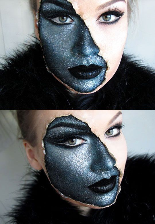 1000+ Ideas About Crazy Makeup On Pinterest