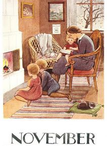 November ~ Elsa Beskow...she is the most amazing illustrator/children's book author!!: