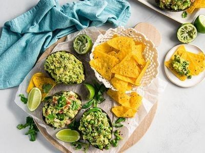 What's better than one serve of guac? Guacamole three-ways!