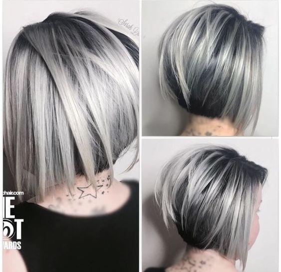43++ Grey bob hairstyles ideas