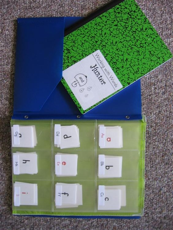 Love this idea for organizing word study!