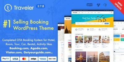 Travel Booking Wordpress Theme 2 8 2 Theme Forest Themes Https Lovegpl Com Product Travel Booking Wordpress Theme In 2020 Wordpress Theme Travel Themes Trip Advisor