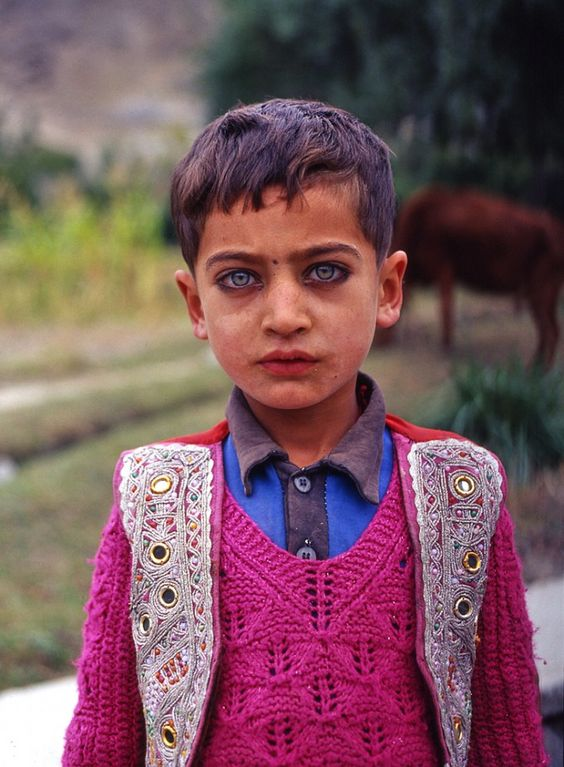 Gilgiti-Balti boy, Pakistan.