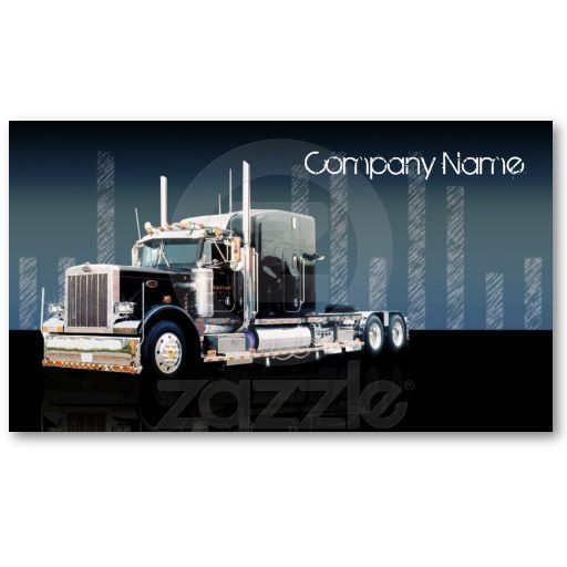 Business cards Trucks and Transportation on Pinterest