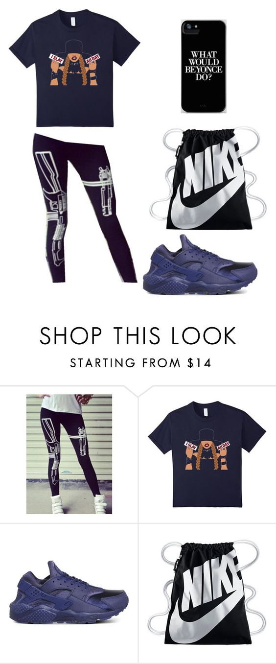 """""""What would Beyonce do?"""" by ashes611 ❤ liked on Polyvore featuring NIKE"""