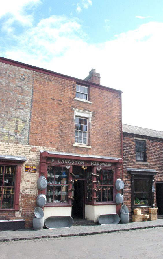 The hardware shop at The Black Country Living Museum