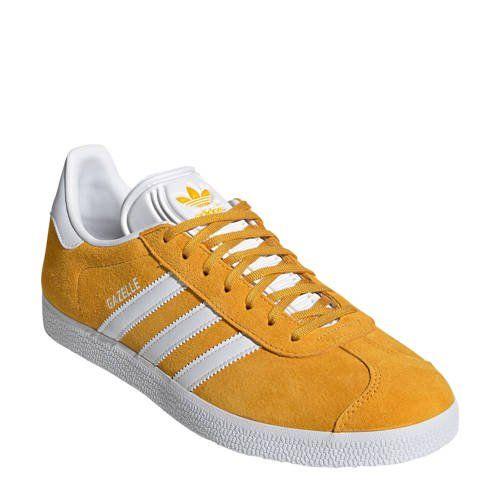 Gazelle sneakers geel/wit (met afbeeldingen) | Adidas ...