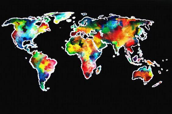 Eine bunte Welt