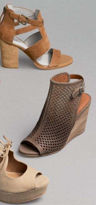 pretty sandals to pair with Fall outfits