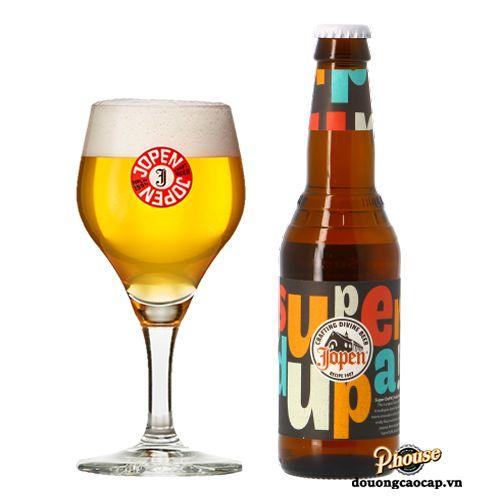 Bia Jopen Super Dupa 5.5% - Chai 330ml - Bia Hà Lan Nhập Khẩu TPHCM
