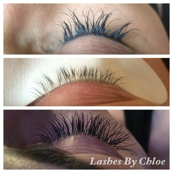 How lashes shouldn't look, after removal, new set