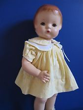 """C 1928, EXCEPTIONAL, 19"""" EFFANBEE """"PATSY ANN"""" COMPOSITION DOLL, BLUE TIN EYES"""