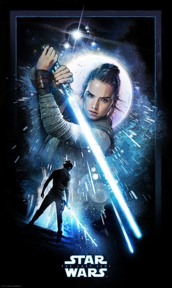 Steve Anderson Gallery Rey Star Wars Star Wars Poster Star Wars Art