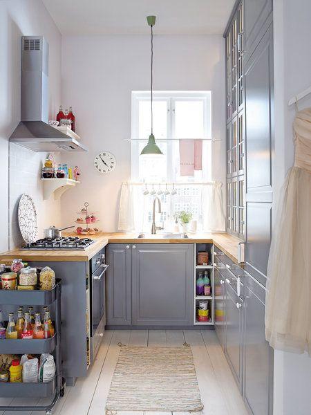 6 ideas decorativas para cocinas peque as ideas para - Ideas de cocinas pequenas ...