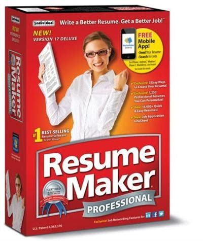 Resume Maker Pro Deluxe v170 Retail WSoftLink Free Download - resume maker software