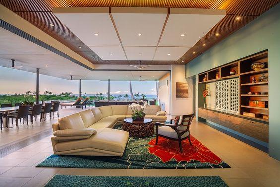 "Winner of HGTV Ulitimate House Hunt 2016 – ""Bringing the Outside In"" Category.  Photography by PanaViz  72-3170 Alapii Kula Drive, Kukio, HI 96740   Hawaii Luxury Real Estate Photographer"