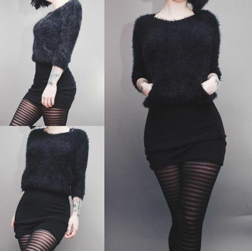 outfits sueter invierno