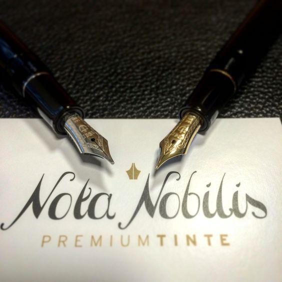 Neue Füllfeder gesucht? Sailor's Professional Gear Slim mit geschmeidiger 14k-Goldfeder entweder in Gold oder Silber. Soon www.nota-nobilis.at   #Füller #Füllfeder #fountainpen #Sailor #notiz #note #signature #unterschrift #ink #tinte #Premium #Premiumtinte #gold #silber #silver #14kgold #14k #10X_your_handwriting #10X