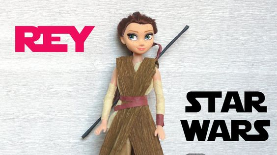 Rey costume DIY! (Star Wars - The Force Awakens) - YouTube
