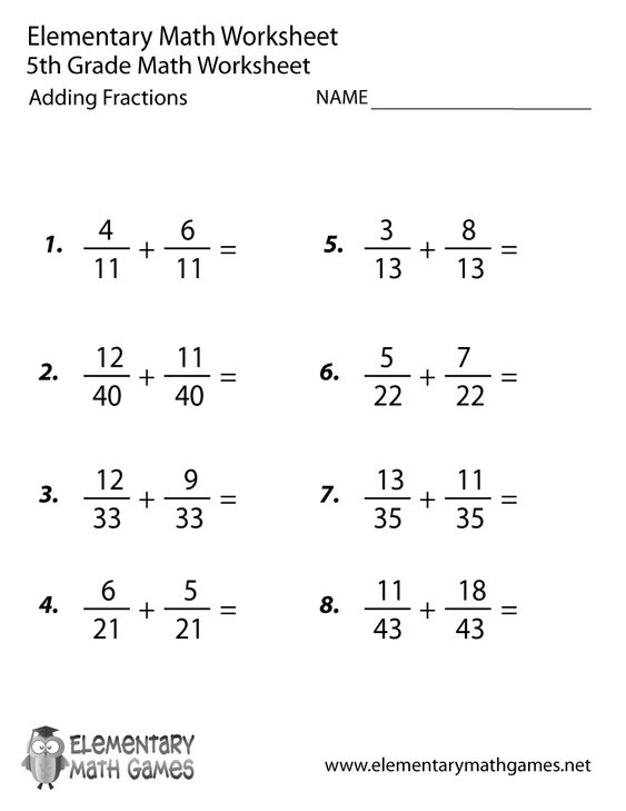 Worksheets 8th Grade Fraction Worksheets fractions worksheets and search on pinterest fifth grade adding worksheet