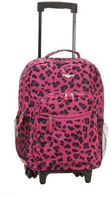 Pink animals, Rolling backpack and Travel tote on Pinterest
